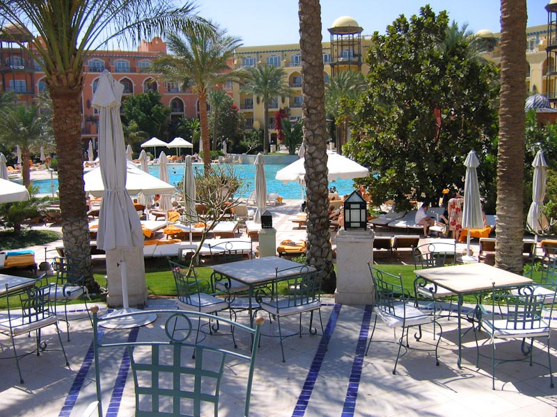 Grand Resort Hurghada Garten
