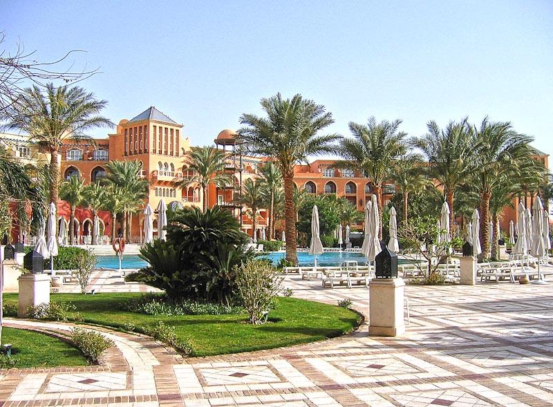 Grand Resort Hurghada Außenaufnahme