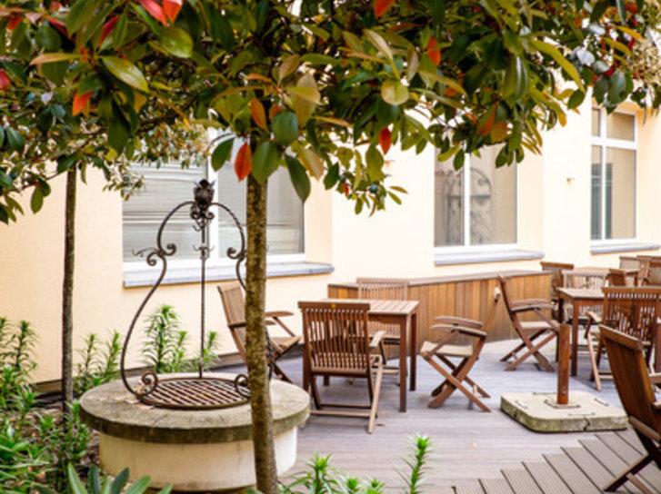 Königshof am Funkturm Terrasse