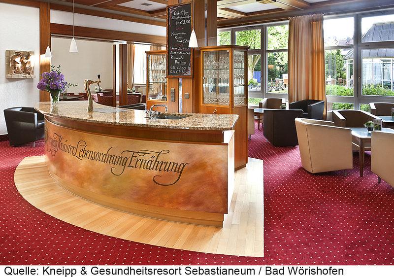 Sebastianeum Kneipp- & Gesundheitsresort Lounge/Empfang