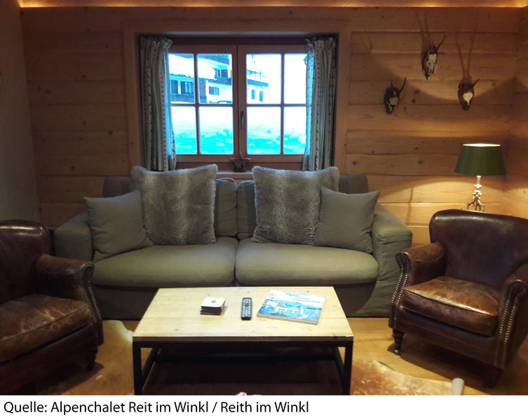 Alpenchalet Reit im Winkl Lounge/Empfang