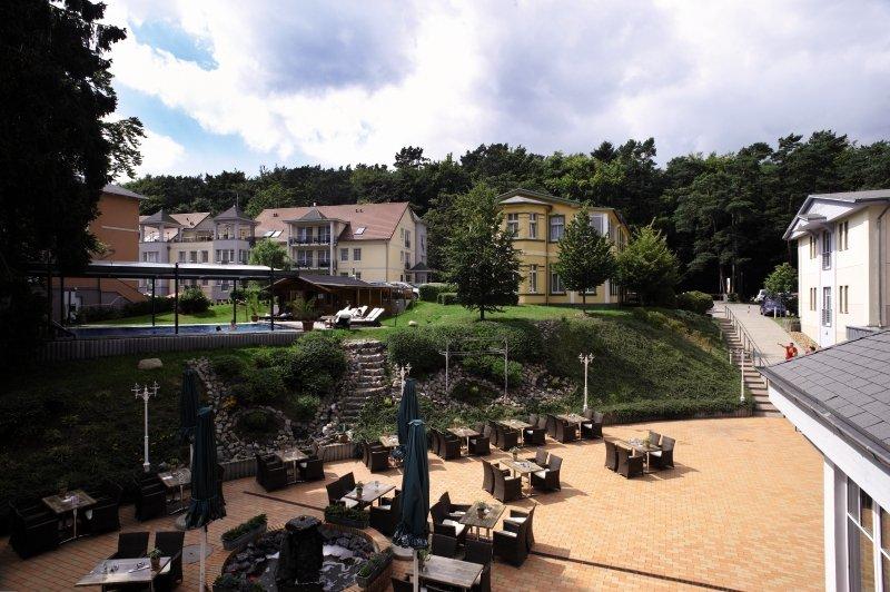 Ostseehotel Villen im Park Garten