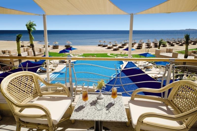 Shams Prestige Resort - Erwachsenenhotel Terrasse