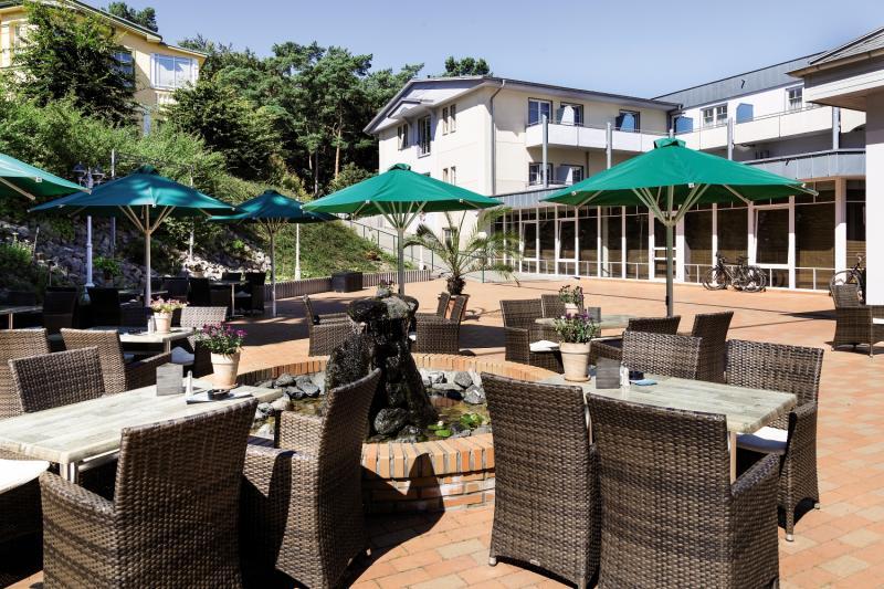 Ostseehotel Villen im Park Terrasse