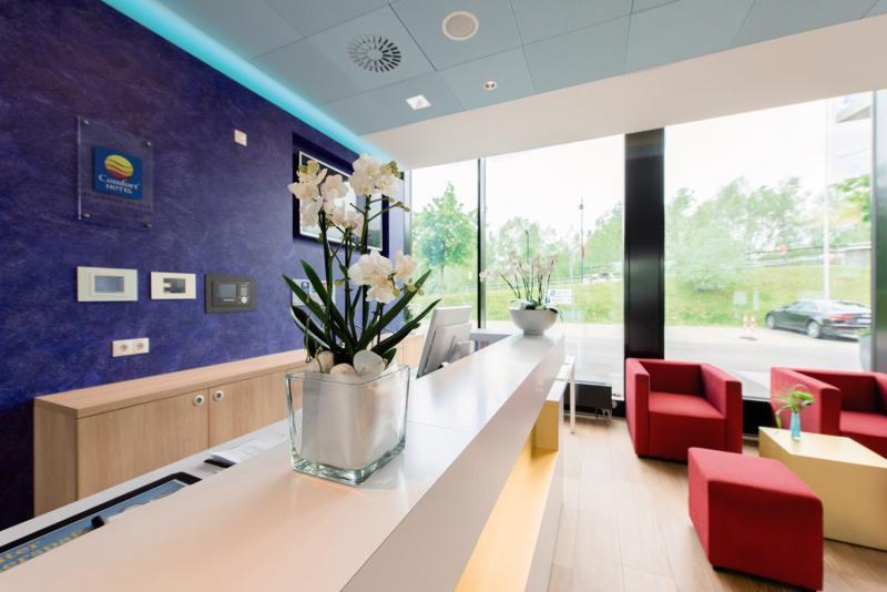 Hotel Comfort Friedrichshafen Lounge/Empfang