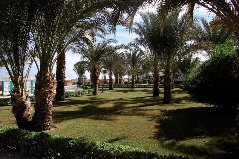 Menaville Resort Garten